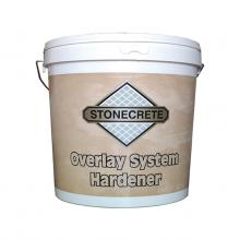 OVERLAY SYSTEM HARDENER ALONG WITH RESIN, FOR THE CONSTRUCTION OF FORGED CEMENT AND OTHER SIMILAR APPLICATIONS